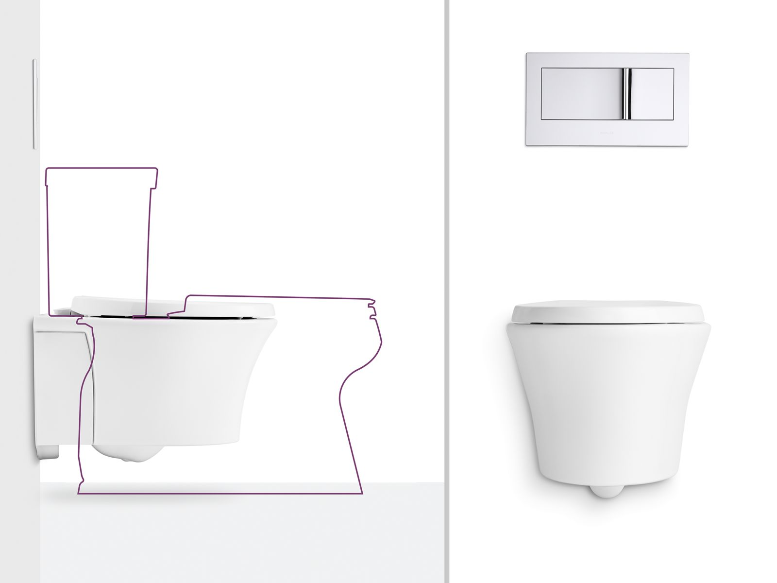 Charmant Wall Hung Toilets. If Youu0027re Looking To Keep Your Bathroom Clean While  Saving Precious Floor Space, Youu0027re Not Alone. Especially In Small  Bathrooms And ...
