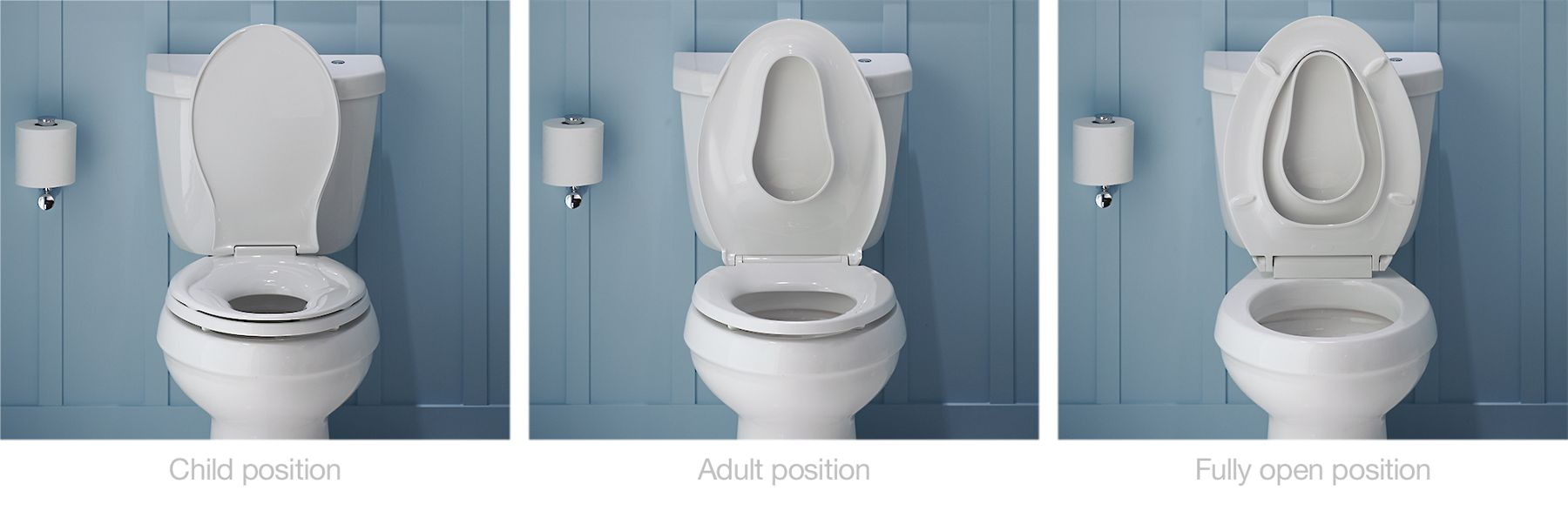 Transitions® Toilet Seat with Integrated Child Seat