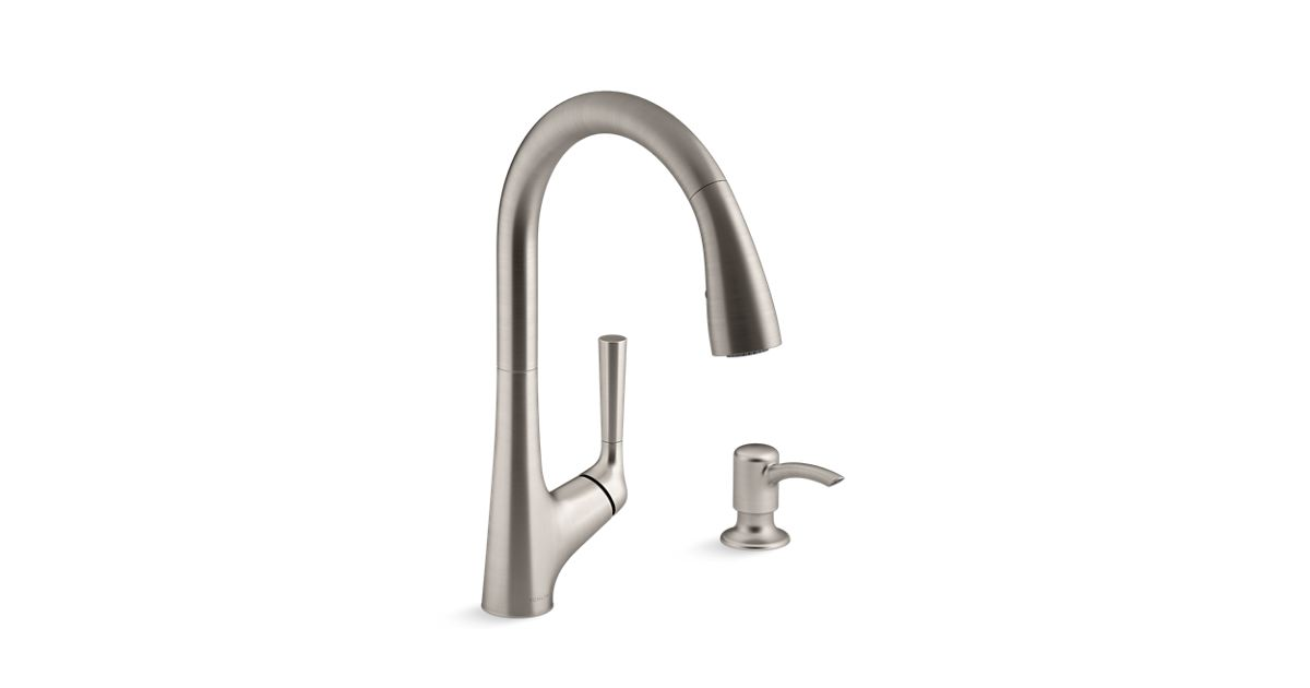 K R77748 Sd Malleco Touchless Pull Down Kitchen Faucet