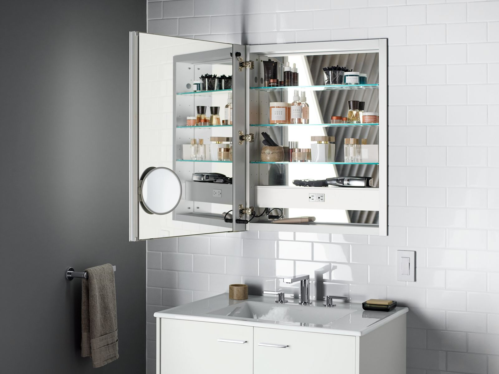 Verdera Medicine Cabinets Bathroom New Products Bathroom KOHLER