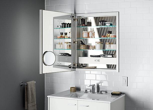 Coordinating mirror cabinets
