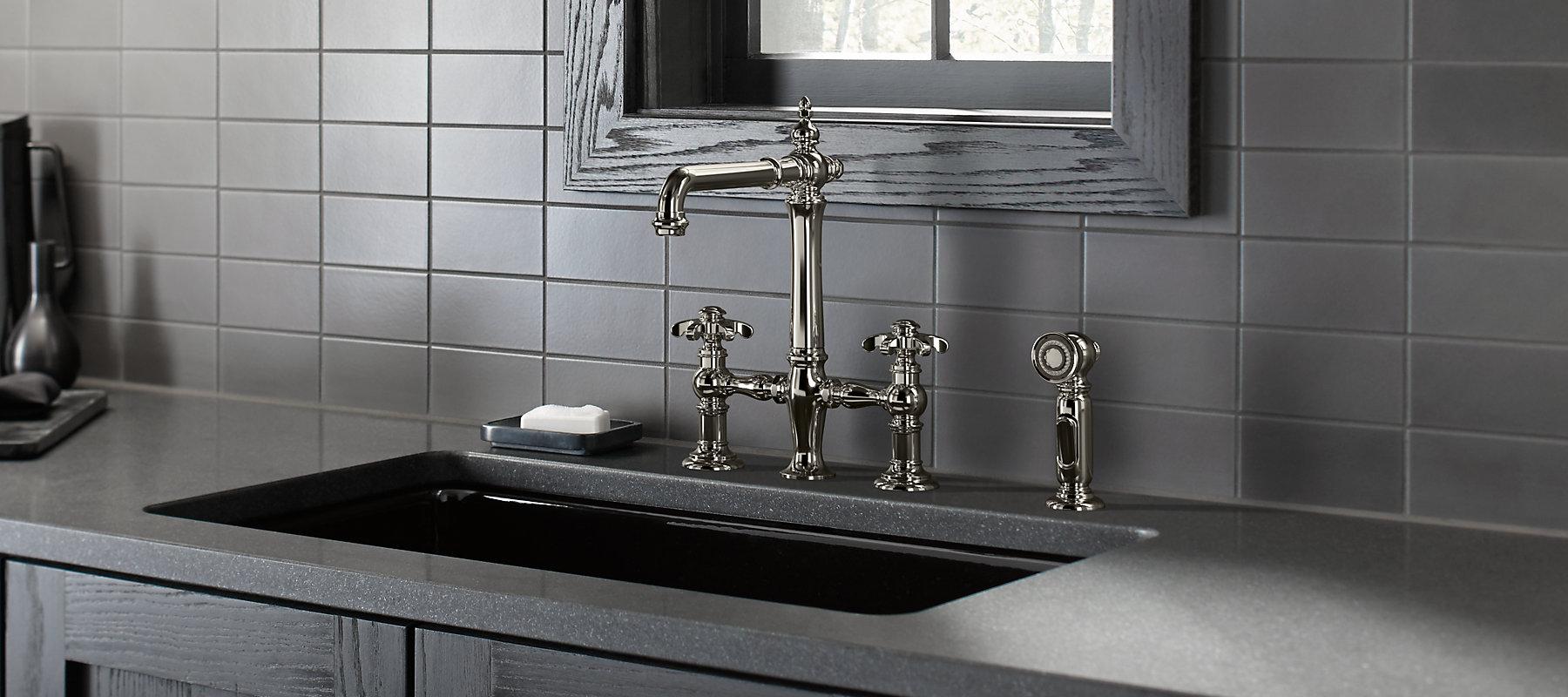 Kohler toilets showers sinks faucets and more for bathroom kitchen Kohler bathroom design services