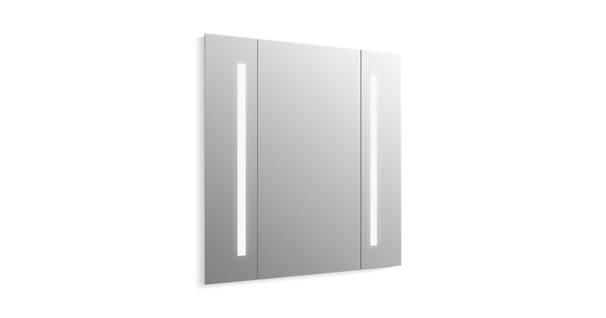 "Verdera® Lighted Mirror, 34"" W X 33"" H"