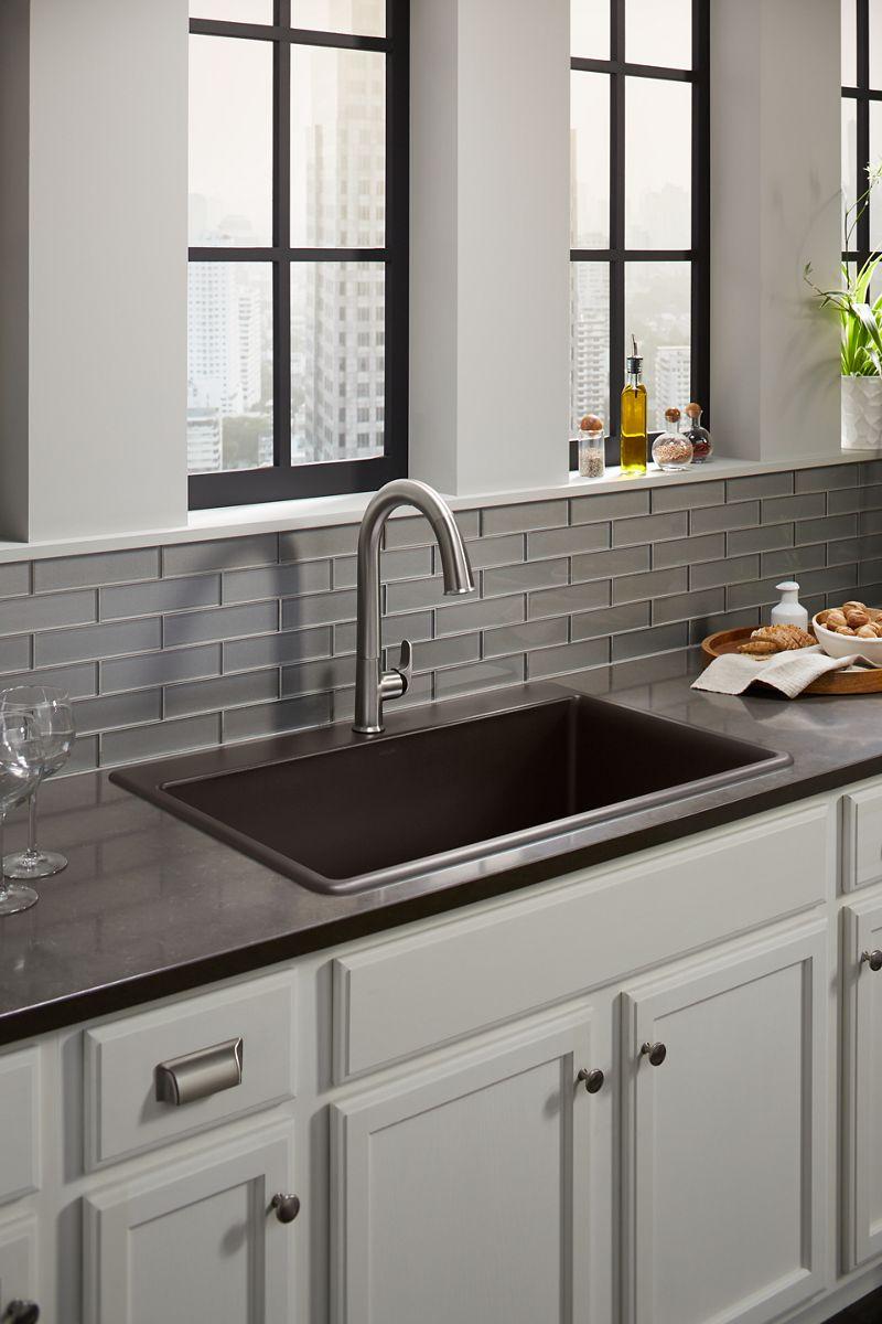kitchen sinks farmhouse stainless steel more kohler rh us kohler com