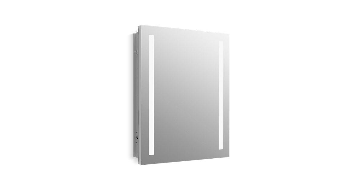 "Verdera® Lighted Medicine Cabinet, 24"" W X 30"