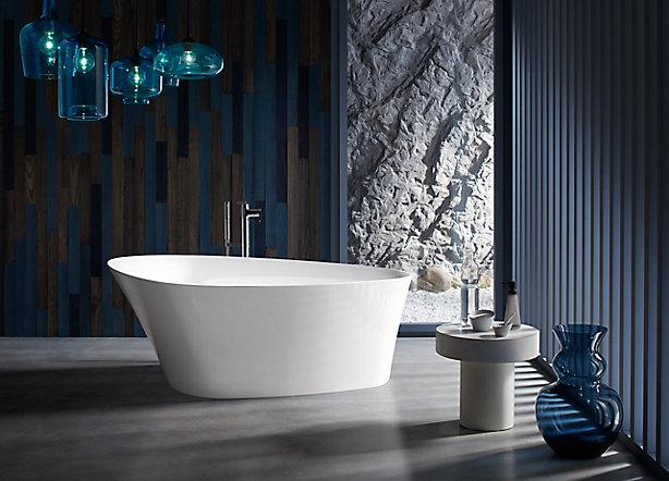 Freestanding Baths KOHLER - Kohler cast iron freestanding tub