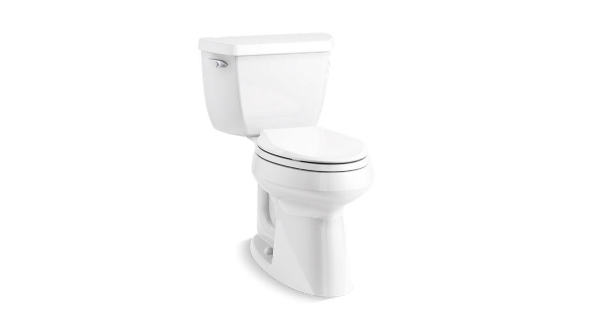 Superb Kohler K 14799 Highline Classic Elongated 1 28 Gpf Toilet Kohler Theyellowbook Wood Chair Design Ideas Theyellowbookinfo