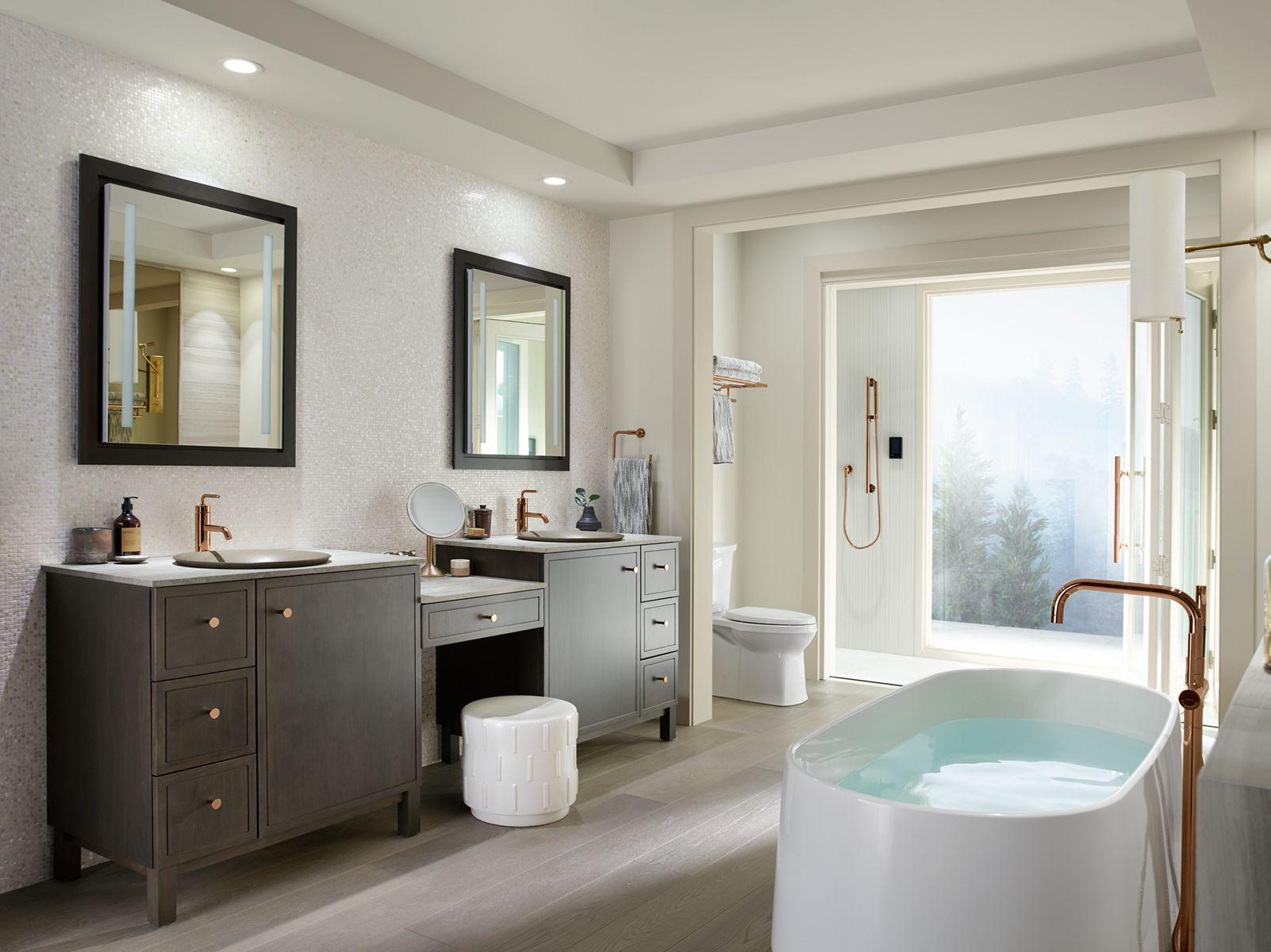 Elegant Bathroom Remodel Under 5000. Kohler Toilets Showers Sinks Faucets And More  For Bathroom