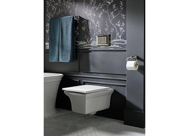 Surprising Kohler Adds Wall Hung Toilet To Timeless Memoirs Line Kohler Beatyapartments Chair Design Images Beatyapartmentscom