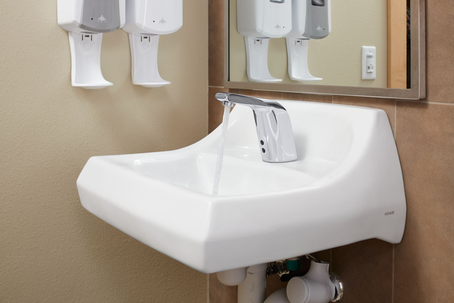 Exceptionnel Commercial Lavatories. Made To Withstand The Most Demanding Environments.