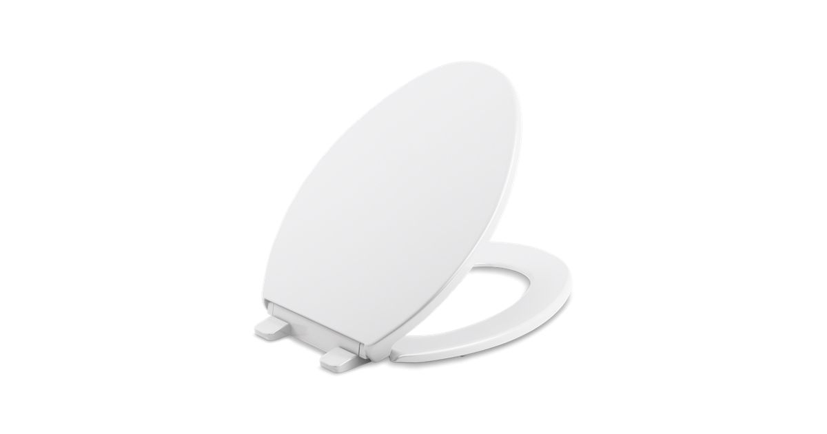 K 4774 Brevia Elongated Toilet Seat With Quick Release Kohler