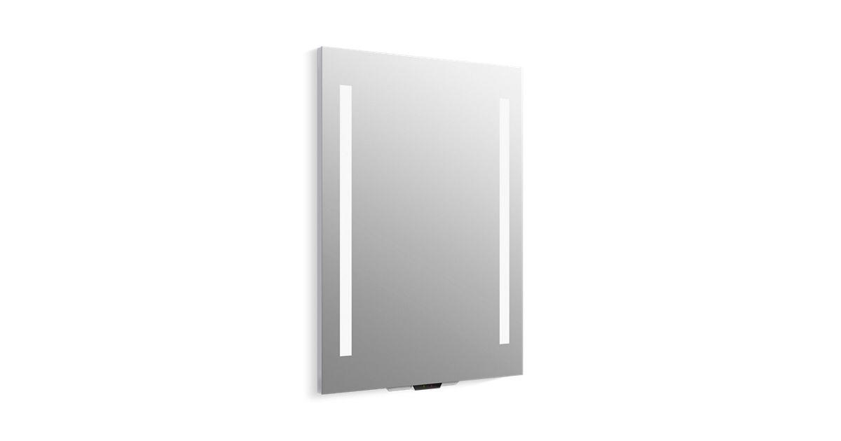 K 99571 Vlan Na Verdera Lighted, Kohler Led Bathroom Mirror