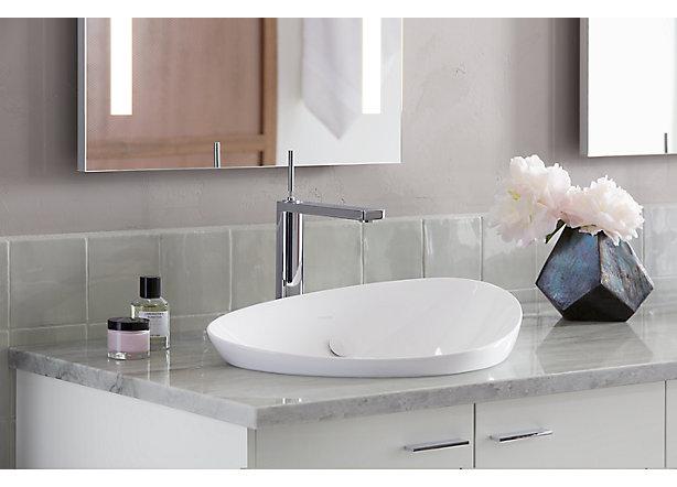 Kohler Veil Bathroom Collection Epitomizes Warm Minimalism