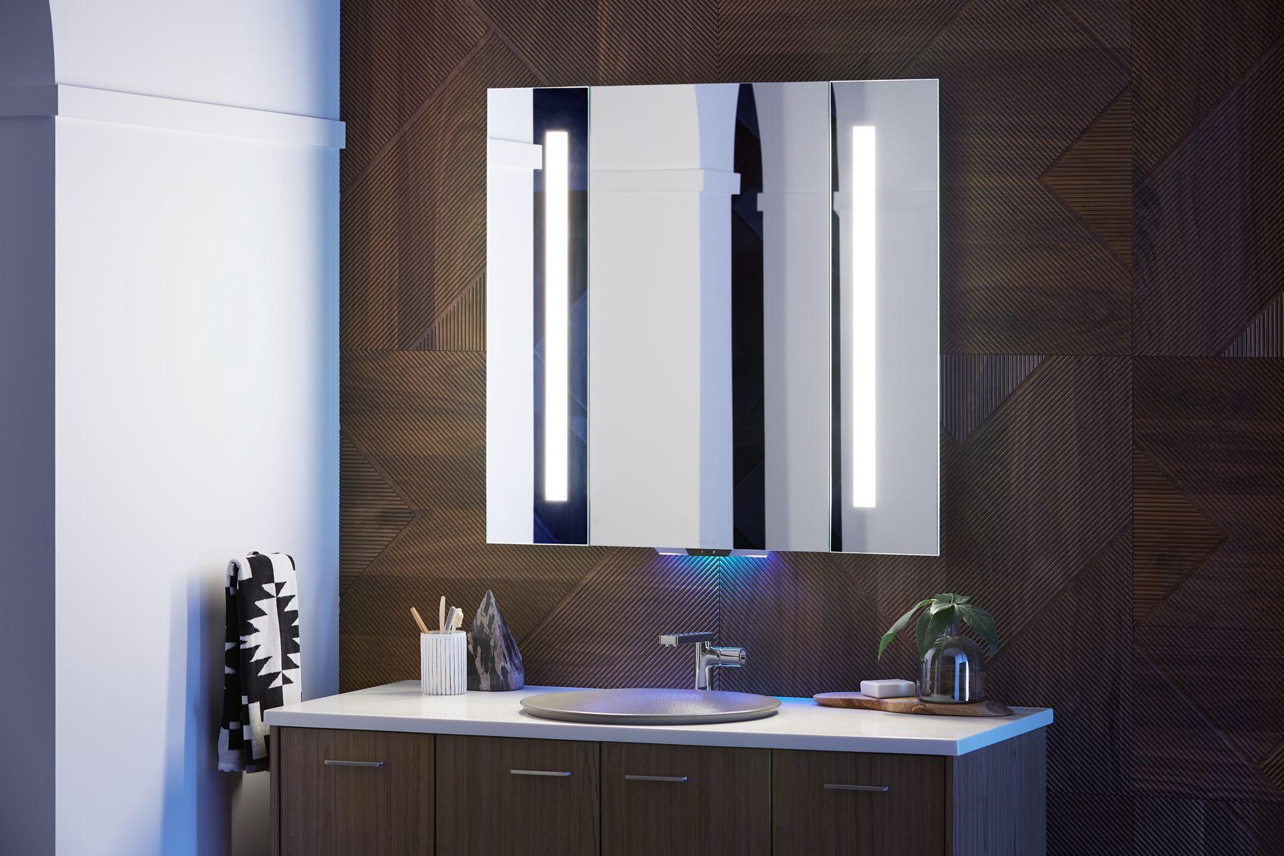 Verdera Voice Lighted Mirror With Amazon Alexa Kohler