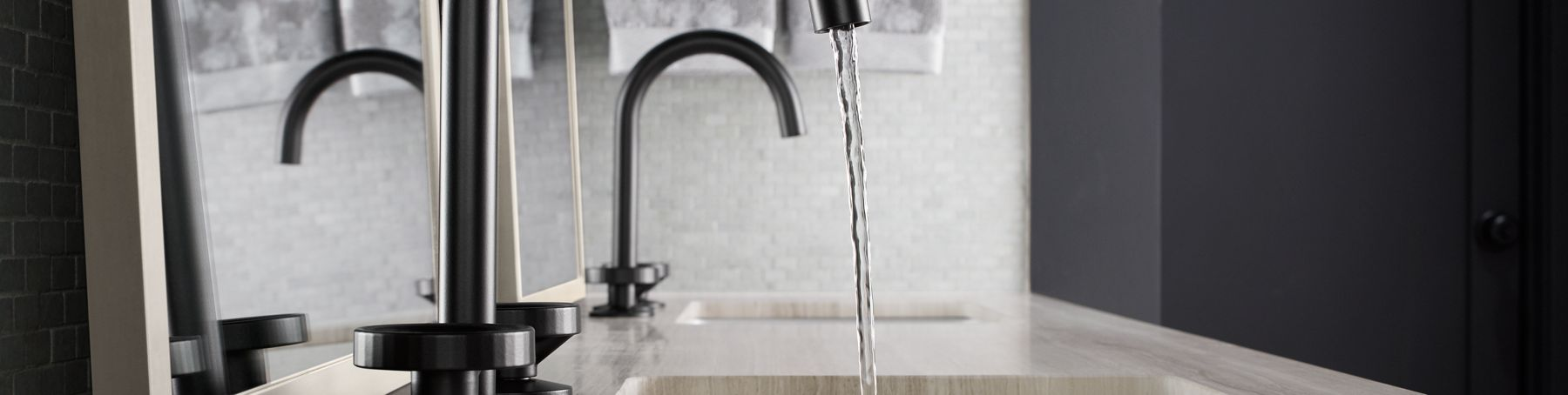 Make a stylish statement and save 25% on a new bathroom faucet. Use coupon code FAUCET25 at checkout.