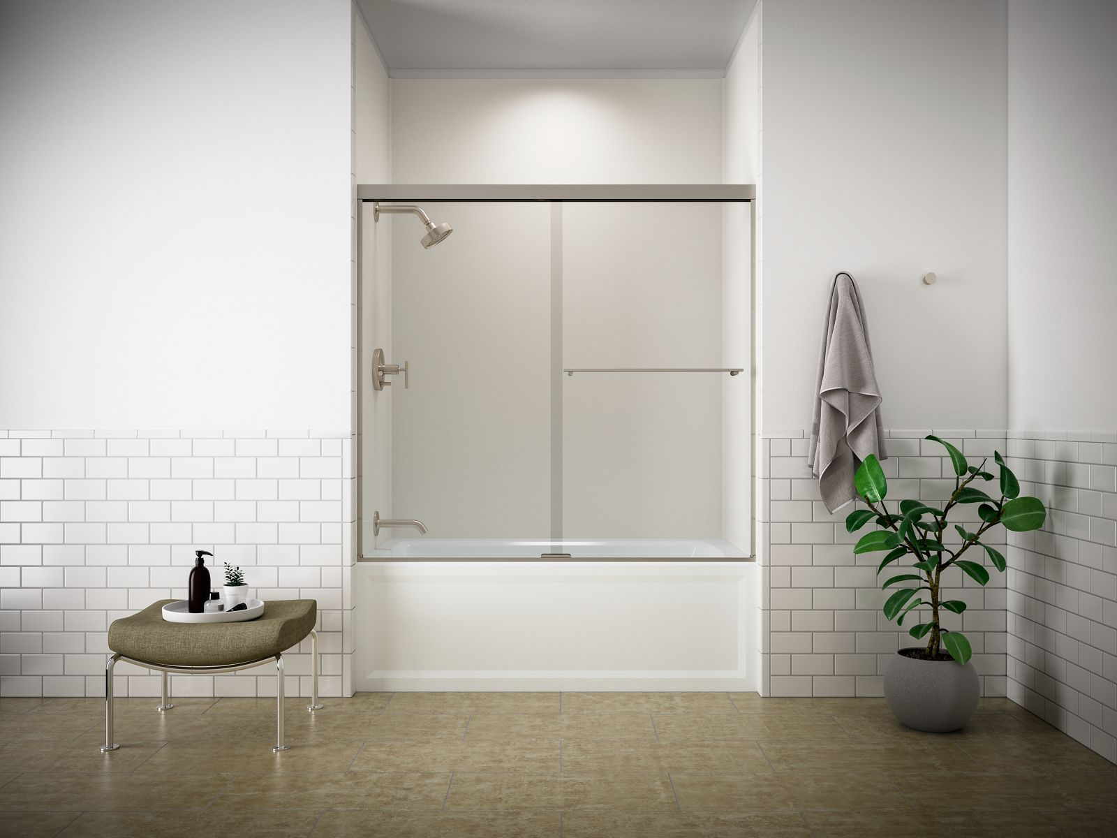 Exceptionnel Sliding Bathtub Doors
